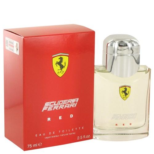 Perfume Masculino Scuderia Red Ferrari 75 Ml Eau de Toilette