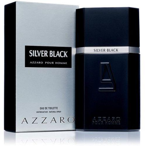 Perfume Masculino Silver Black Masculino 100ml