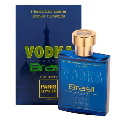 Perfume Masculino Vodka Brasil Blue 100ml - Paris Elysees