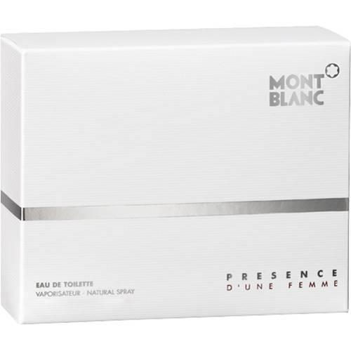 Tudo sobre 'Perfume Montblanc Presence D'une Femme Feminino Eau de Toilette 75ml'