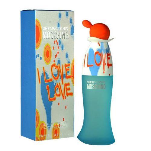 Perfume Moschino I Love Love Eau de Toilette Feminino 100 Ml