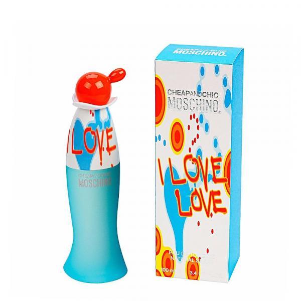 Perfume Moschino I Love Love Eau de Toilette Feminino 100ML