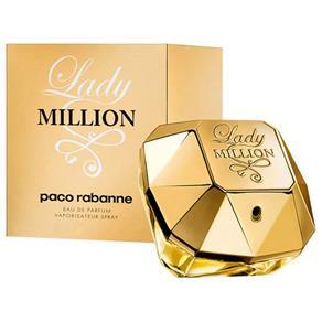 Perfume Paco Rabanne Lady Million Feminino Eau de Parfum (80 Ml) - 80 ML