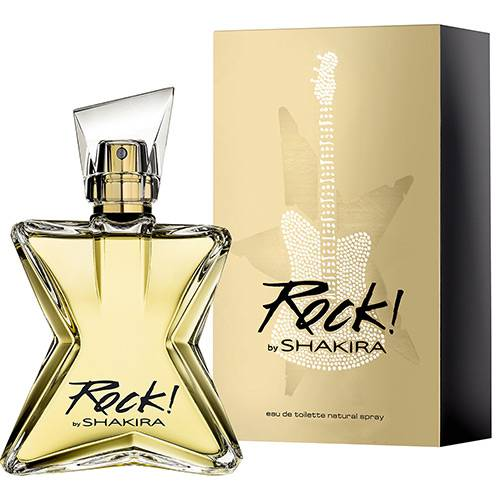 Perfume Rock By Shakira Feminino Eau de Toilette 30ml