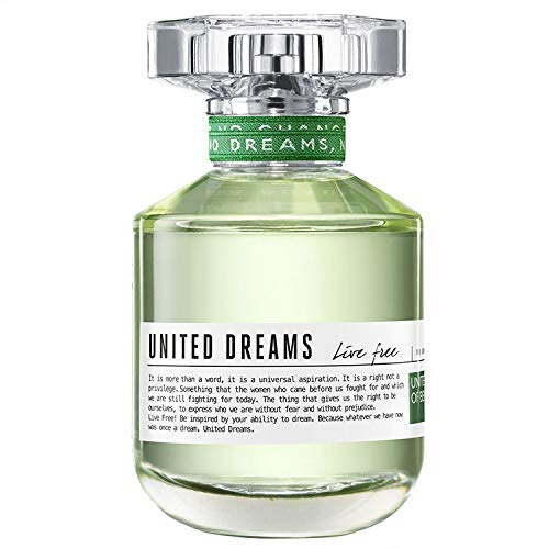 Perfume United Dreams Live Free 50ml Edt Feminino Benetton