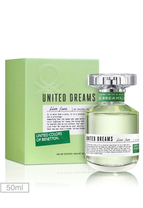 Perfume United Dreams Live Free Her 50ml