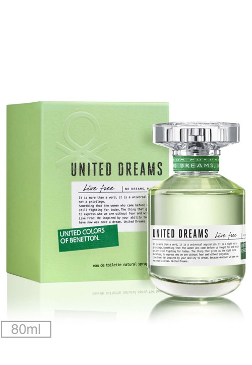 Perfume United Dreams Live Free Her 80ml