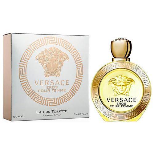 Perfume Versace Eros Pour Femme Eau de Toilette Feminino 100 Ml