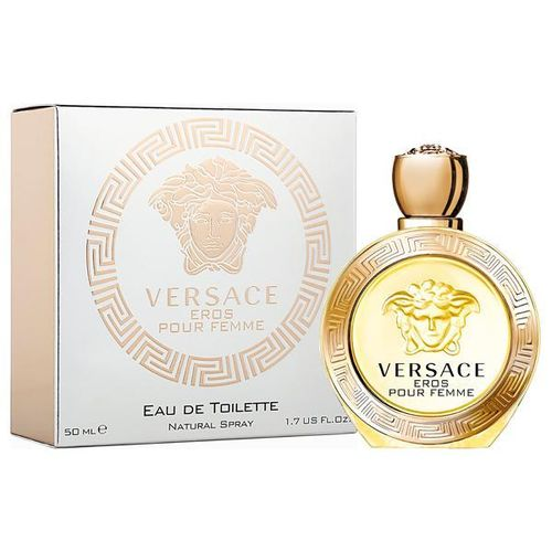 Perfume Versace Eros Pour Femme Eau de Toilette Feminino 50 Ml