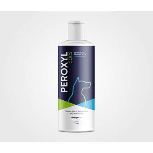 Tudo sobre 'Peroxyl 125 Ml Shampoo para Cães Centagro'
