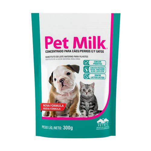 Pet Milk Substituto do Leite Materno Vetnil para Cães e Gatos Filhotes