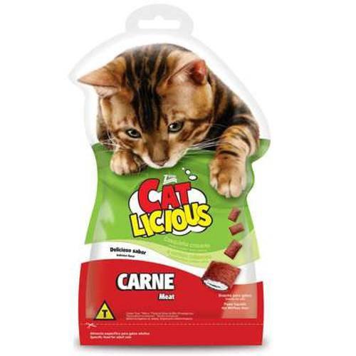 Tudo sobre 'Petisco Total Cat Licious Carne - 40 G'
