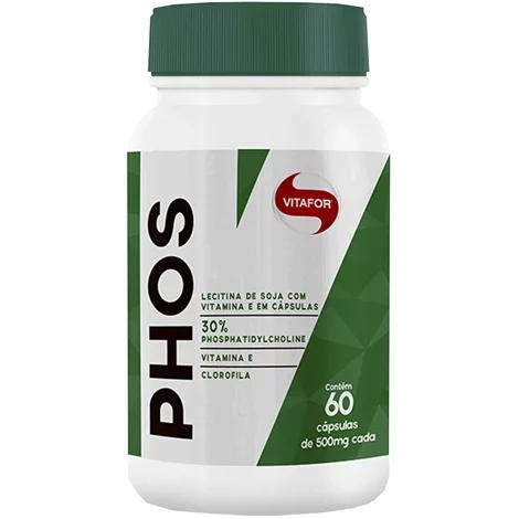 Phos 60 Cápsulas 500mg Vitafor