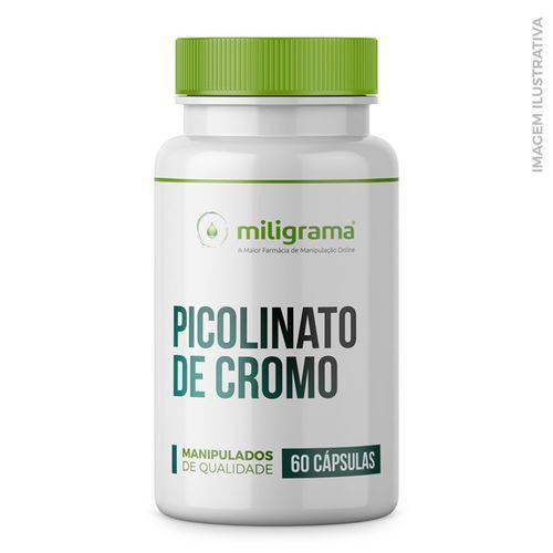 Picolinato de Cromo 200mcg 60 Cápsulas
