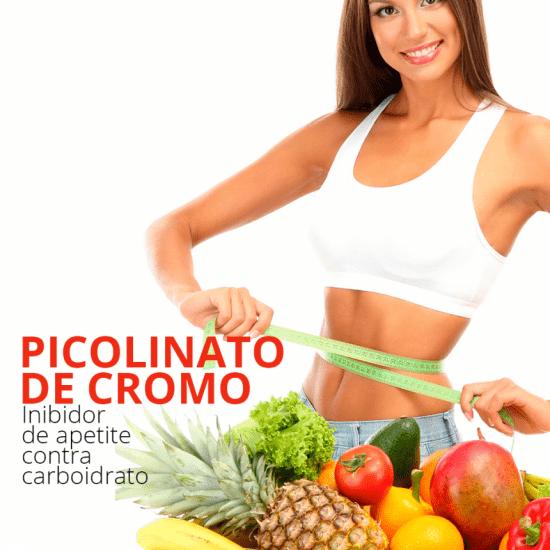 Picolinato de Cromo 200Mcg (60 Cápsulas)