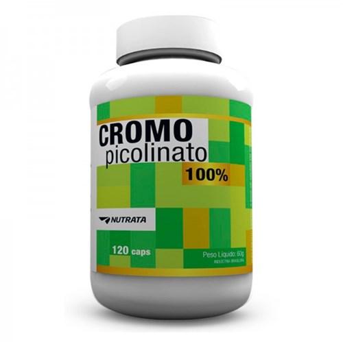 Picolinato de Cromo 120 Capsulas - Nutrata