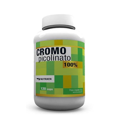 Picolinato de Cromo 120 Cápsulas Nutrata