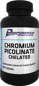 Picolinato de Cromo 100 Cápsulas - Performance, 100 Cápsulas - Performance