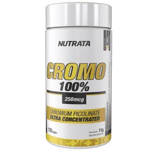 Picolinato de Cromo 100% Nutrata 120caps