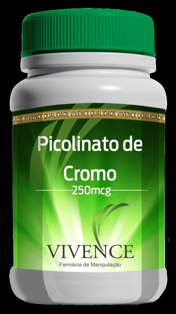 Picolinato de Cromo 250 Mcg (60 Cápsulas)