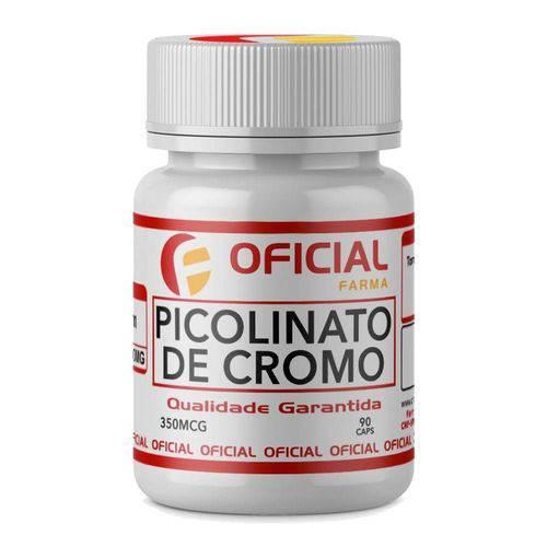 Picolinato de Cromo 350 Mcg 90 Cápsulas