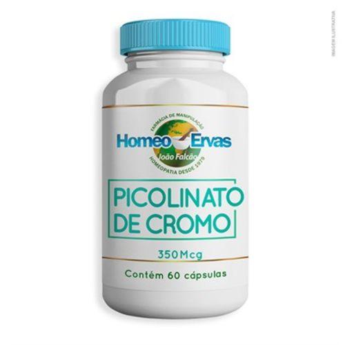 Picolinato de Cromo 350Mcg 60 Cápsulas