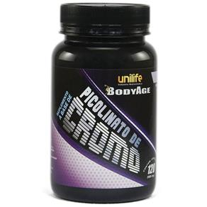 Picolinato de Cromo 550mg - Unilife - Natural - 120 Cápsulas