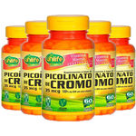 Picolinato de Cromo 5X60 Cápsulas Unilife