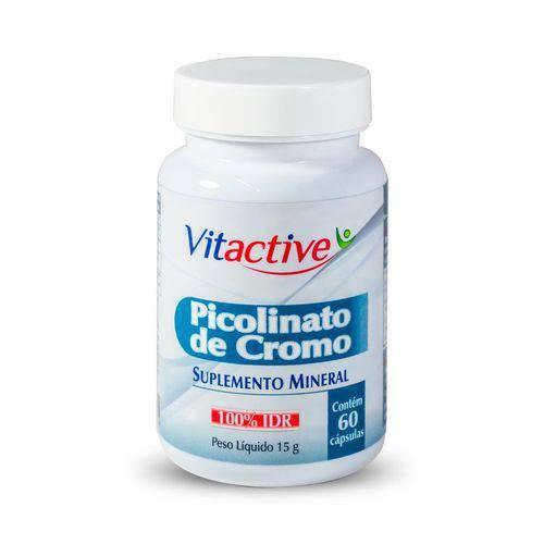 Picolinato de Cromo 60 Cápsulas Vitactive