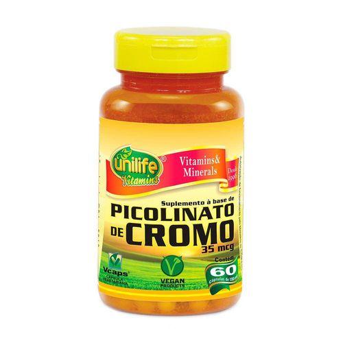 Picolinato de Cromo 60 Capsulas