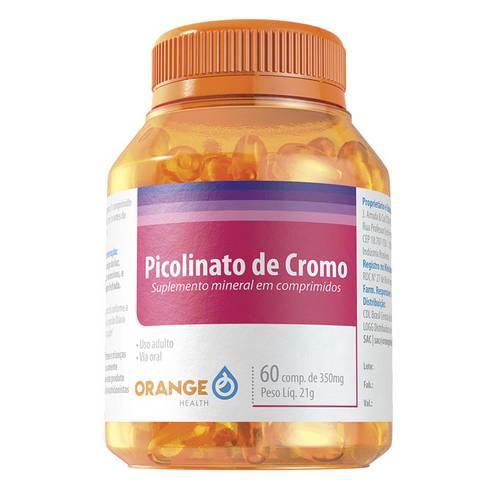 Picolinato de Cromo - 60 Comprimidos - 350mg