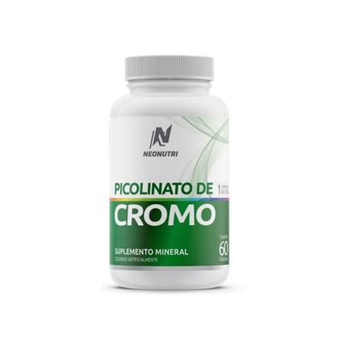 Picolinato de Cromo Neonutri 60 Cápsulas