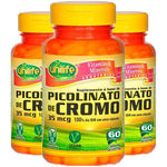Picolinato de Cromo 3X60 Cápsulas Unilife