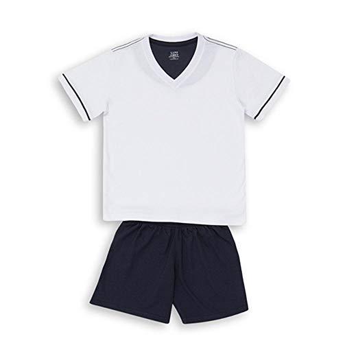 Tudo sobre 'Pijama Lupo Curto Adulto Masculino Gola V (Adulto) Tamanho: P | Cor: Marinho/Azul'
