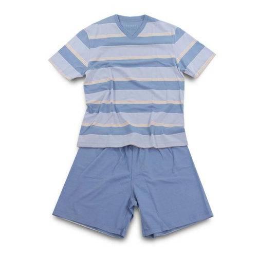 Tudo sobre 'Pijama Masculino Curto Malha 21152'