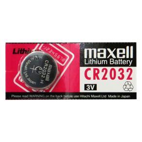 Pilha Bateria Botão Lithium CR2032 - 3v - C/ 1 Unid. - Maxell