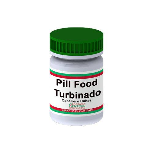 Tudo sobre 'Pill Food Turbinado 120 Cápsulas'