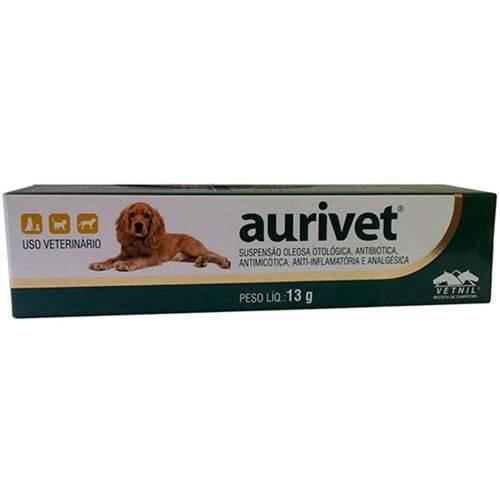 Pio2027 Medicamento Aurivet 13g - Vetnil