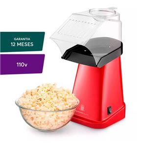 Pipoqueira Elétrica Multilaser Gourmet Vermelha - 127v