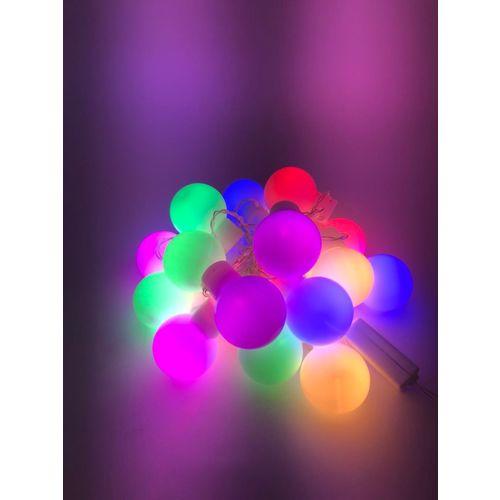Tudo sobre 'Pisca Natal Bola 20 Led 4m Colorido 220v Decoração Natal'
