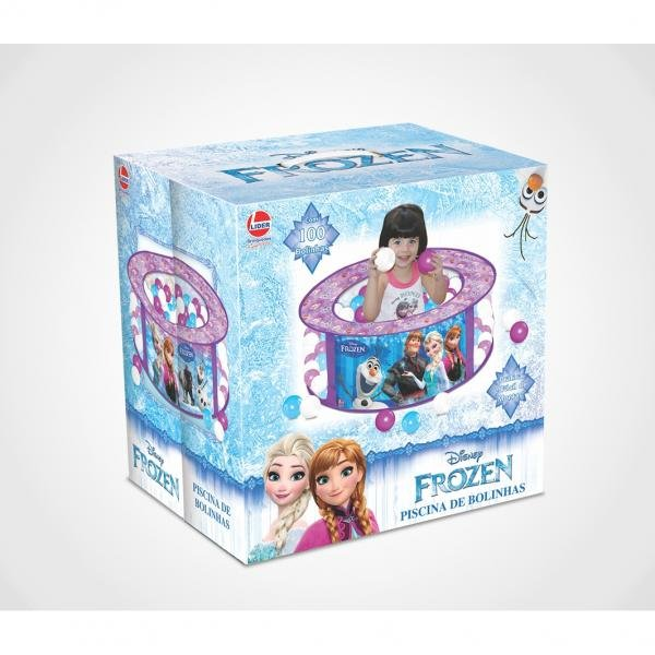 Piscina de Bolinhas Frozen - Lider Brinquedos