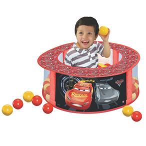 Piscina de Bolinhas Redonda com 100 Bolinhas - Disney - Cars - Líder