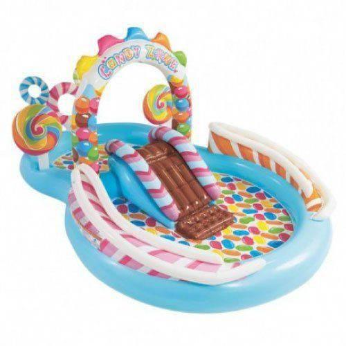 Tudo sobre 'Piscina Inflável Infantil Playground Candy Zone 206 Litros Intex'