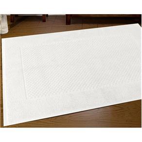 Piso Buddemeyer Luxor - 100% Algodão - Gramatura: 1100g/m² - Branca - Branco