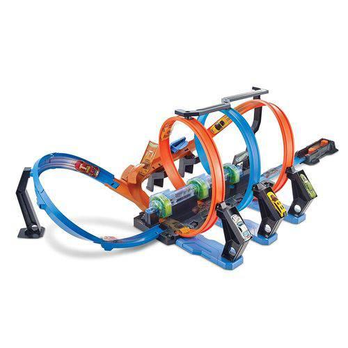 Tudo sobre 'Pista e Veículo - Hot Wheels - Corkscrew Crash - Mattel'