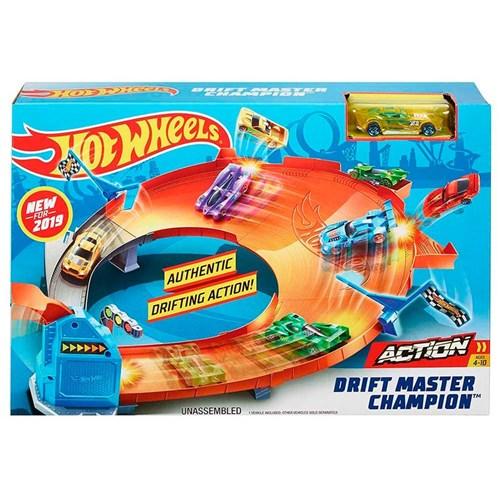 Tudo sobre 'Pista Hot Wheels Drift Master Champion'