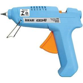 Pistola de Cola Quente Hikari Hm 40w Bivolt