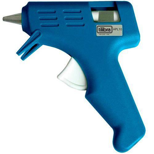 Pistola para Cola Quente Pequena APL10 - Tilibra