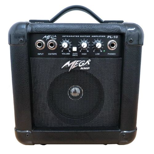 PL-10BK Amplificador Mega P/guitarra