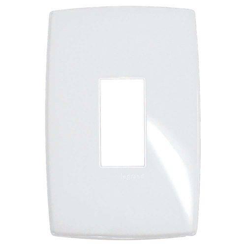 Tudo sobre 'Placa 4x2 1 Posto Vertical Branco Gloss Pialplus Pial'